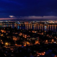 Иркутск с высоты :: Владимир Гришин