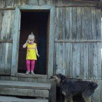 Рот открыл и слушает... :: Светлана Рябова-Шатунова