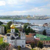 Нижний Новгород с высоты птичьего полёта :: Надежда