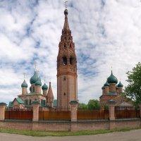 Храм Николы Мокрого...Ярославль... :: leonid