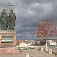 Памятник Кириллу и Мефодию в Коломне :: ИРЭН@ .