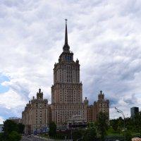 """Москва...  Гостиница """" Украина"""" ....Дата постройки1953 г. :: Galina Leskova"""