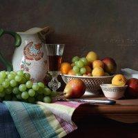 Фрукты и вино :: Елена Татульян