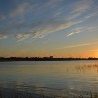 Закат на заливе. :: Виктор