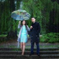 Под дождем :: Ирина Масальская
