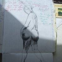 Лозунг фотомодели: все мое ношу с собой!... :: Алекс Аро Аро