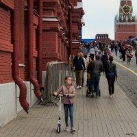 Я шагаю по Москве :: Alent Vink