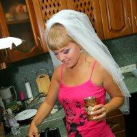 утро невесты :: Nikolai Semeykin