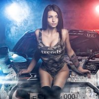 Girls & Cars - Russian Drift Alliance - Alena :: Андрей Кудрявцев