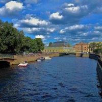 Лето на Мойке реке... :: Sergey Gordoff