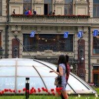 красные строчки цветов :: Олег Лукьянов