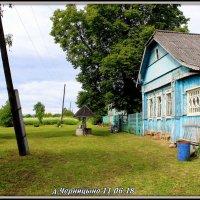 деревня на берегу Нерли :: Геннадий Тарасов