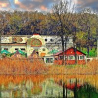 в Дюковском саду :: Александр Корчемный