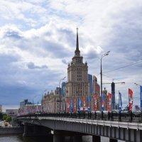 Москва . Новоарбатский мост :: Galina Leskova