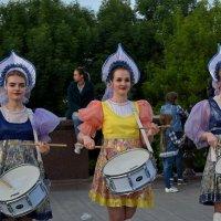 Мячи летели в чужие ворота под барабанную дробь! :: Татьяна Помогалова