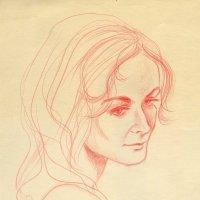 Не уродина, а просто расстроенная и уставшая богиня. :: Anna Gornostayeva