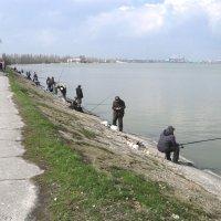Рыбаки на набережной. :: Slav51T