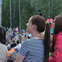Зрители на симфоническом концерте в парке :: Вячеслав & Алёна Макаренины