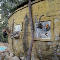 Заброшенный отель в посёлке Чамьюва. Кемер. Турция.(серия-17) :: Валентина Жукова