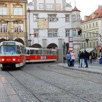 Мой любимый пражский трамвай :: Елена Гуляева (mashagulena)