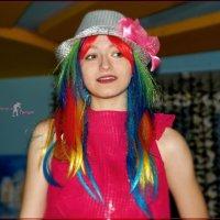 С волосами цвета радуги. :: Anatol Livtsov
