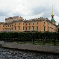 Михайловский замок со стороны р. Мойки :: Елена Павлова (Смолова)