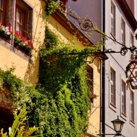 По улочкам древнего Ротенбурга на Таубере :: backareva.irina Бакарева