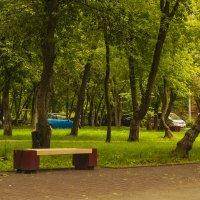 одинокая скамейка :: Петр Беляков