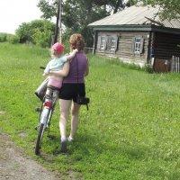 Мама всегда подставит своё плечо :: Светлана Рябова-Шатунова