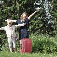 на каникулы :: Антонина Мустонен