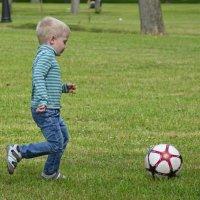 Большой футбол начинается с детства :: Наталия П