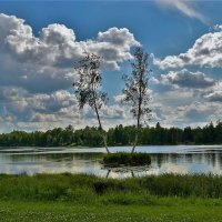 Островок Оленьи Рога... :: Sergey Gordoff