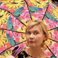 Портрет с зонтиком :: delete