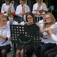 Джазовый концерт в Вильнюсе_флейты и тромбоны :: Елена Жукова