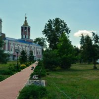 Солотчинский женский монастырь (панорама) :: Александр Буянов