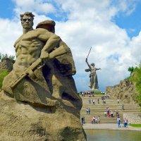 В том кургане похоронена война - 22 июня День памяти и скорби :: Александр Машков (alex2009vm)