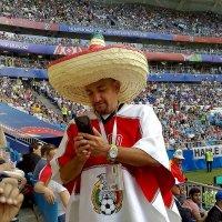 Мексиканец на игре Дания - Австралия. Самара.21.06.18 :: MILAV V
