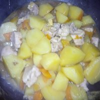 Картошка с мясом :: BoxerMak Mak