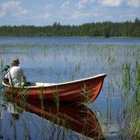 на озере :: Антонина Мустонен