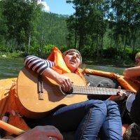 Берега,берега...Мы на лодочке сплавлялись... :: Любовь Иванова