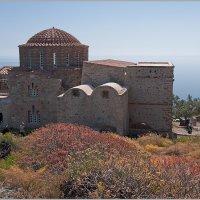Византийская церковь Святой Софии. Монемвасия, Греция. :: Lmark