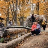 Мы в осеннем лесу... :: Виктор Иванович