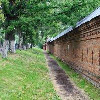 Монастырская стена :: Евгений