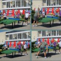 На игровой площадке фан-зоны в Ростове-на-Дону :: Нина Бутко