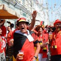 Бельгийские фанаты..... :: Юрий Яньков