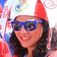 Болельщица из Панамы :: Татьяна Ломтева