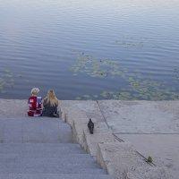 Беседа у воды.. :: Анатолий Грачев