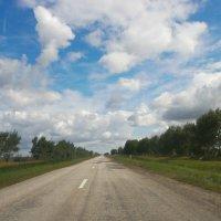 Дорога из окна автомобиля :: Вячеслав & Алёна Макаренины