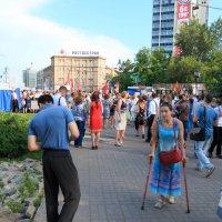Митинг в Новосибирск 28.06.18 :: Иван Янковский