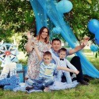 Семейная фотосессия в парке :: марина алексеева
